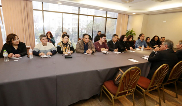Negociadores do  Banco do Brasil querem alterar texto do ACT atua para restringir direitos - Foto: Jailton Garcia/Contraf-CUT