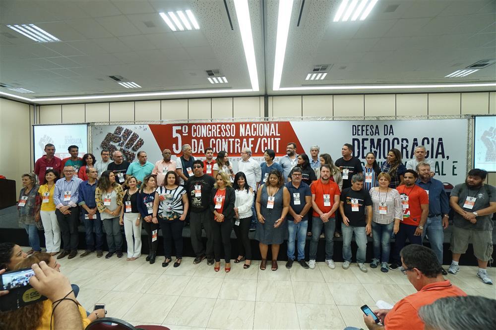 5º Congresso da Contraf-CUT elege nova diretoria