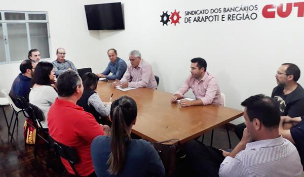 A diretoria do Sindicato de Arapoti definiu a participação da entidade no evento que vai levantar as propostas do Paraná para a Campanha 2018