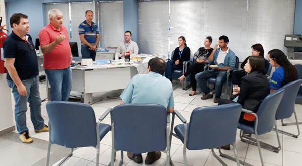 Carlos /Roberto de Freitas, presidente do Sindicato de Arapoti, ressaltou a importância de construir uma forte mobilização este ano para impedir retrocessos nos direitos