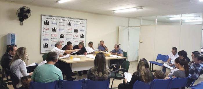 A Assembleia seguiu o parecer do Conselho Fiscal e aprovou as contas do Sindicato de Apucarana