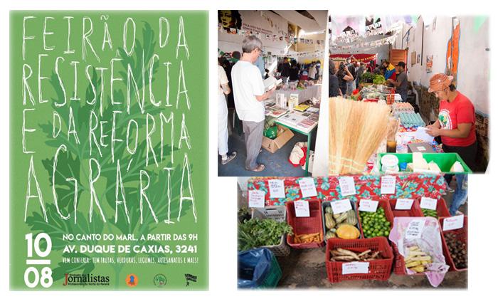 O Feirão oferece alimentos saudáveis, apresentações artísticas e diversos outros