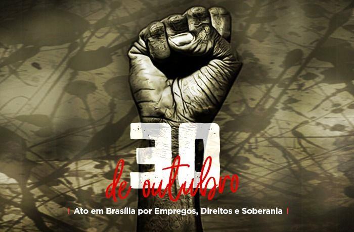 Trabalhadores se unem contra privatizações e em defesa da soberania