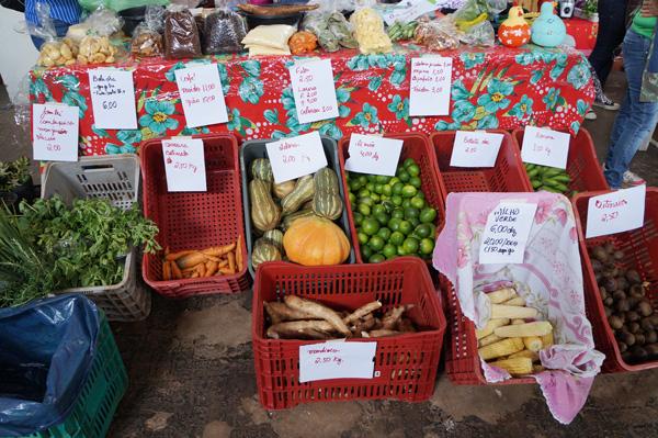 Alimentos produzidos sem agrotóxicos podem ser adquiridos no Feirão da Resistência com preços acessíveis