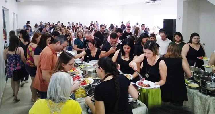 Aproximadamente 700 pessoas prestigiaram a I Festa da Família Bancária, organizada pelo Sindicato de Londrina