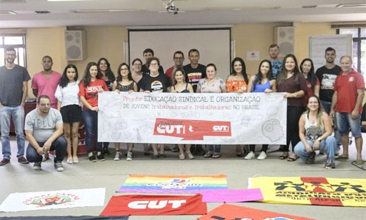 O evento teve a participação de 16 jovens trabalhadores sindicalistas