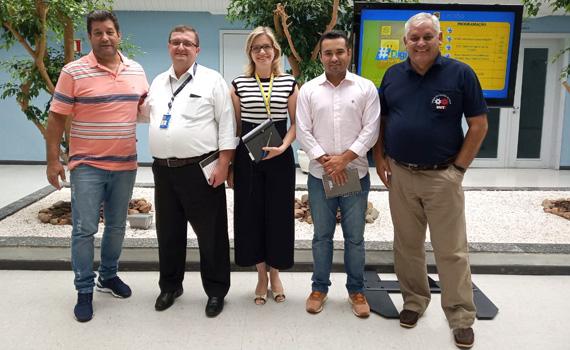 Diretores do Sindicato se reuniram terça-feira (12/02), em Curitiba, com funcionários da Gepes do Banco do Brasil