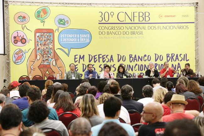 A política de desmonte que afeta a Cassi e o atendimento dos funcionários oriundos da Nossa Caixa foram debatidos no 30º CNFBB