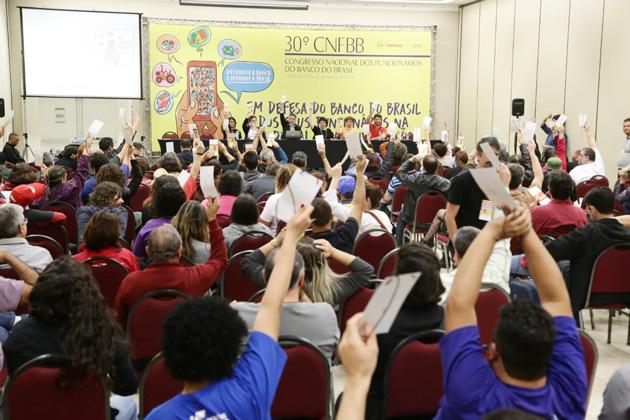 O Congresso dos Funcionários do Banco do Brasil teve a participação de 260 delegados