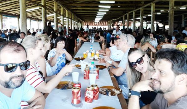 A categoria bancária prestigiou o almoço em solidariedade ao Hospital do Câncer de Londrina