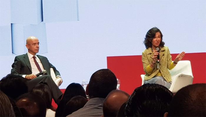 Ana Botín se referiu ao Santander como um 'banco de diversidade', demonstrando desconhecer a realidade da instituição no Brasil