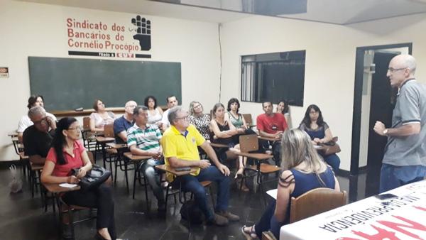A eleição do Sindicato de Cornélio Procópio definira a gestão para o quadriênio 2019/2023