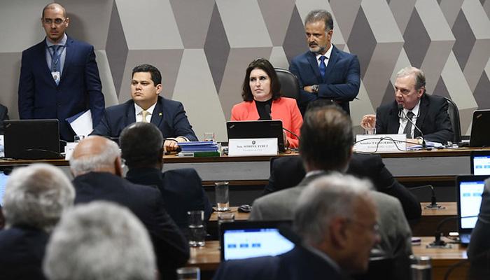 A CCJ do Senado aprovou o texto da reforma da Previdência com poucas alterações para acelerar a tramitação da matéria - Foto: Marcos Oliveira/Agência Senado