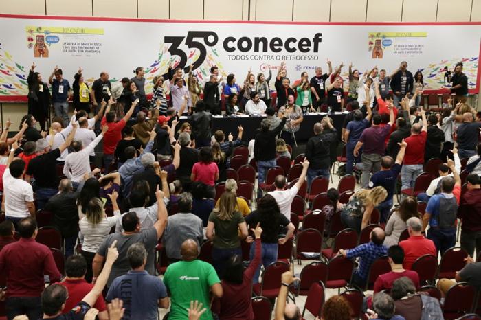 O objetivo dos Congressos dos funcionários do BB e da Caixa é o mesmo: resistir contra o desmonte dos bancos públicos