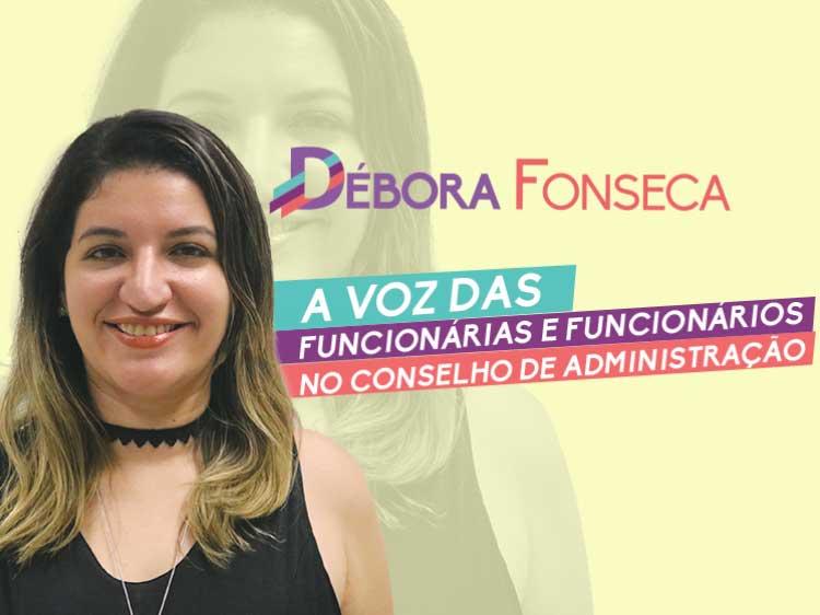 Débora Fonseca é representante dos funcionários do BB no Conselho de Administração do banco
