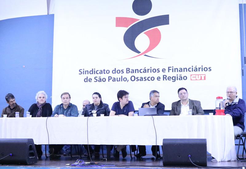 O Encontro de Saúde foi uma deliberação do 30º Congresso Nacional dos Funcionários do BB