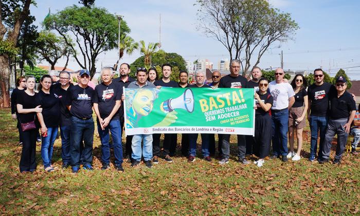 Dirigentes do Sindicato de Londrina participarem do Grito d@s Excluíd@s - Fotos: Armando Duarte Jr.