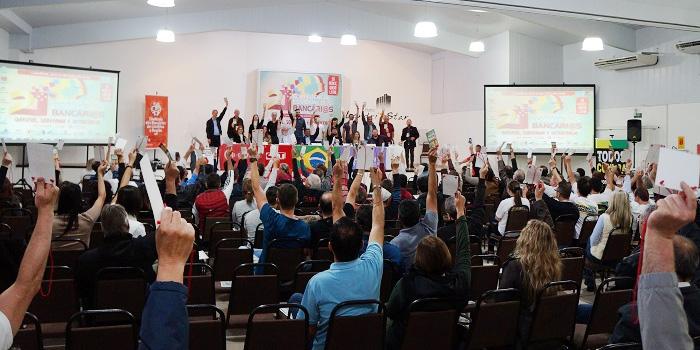 Na Plenária Final foram aprovadas as propostas para a Campanha 2019 - Foto: Armando Duarte Jr.