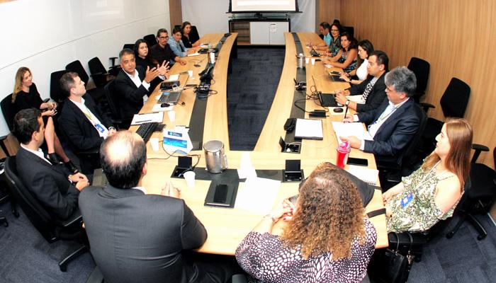 O Banco do Brasil apresentou na reunião detalhes da ampliação dos escritórios e movimentações de pessoal