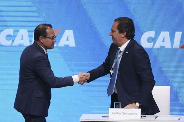 Pedro Guimarães foi indicado pelo mercado e disse que vai vender áreas estratégicas da Caixa - Foto: Valter Campanato/Agência Brasil