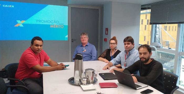 Representantes dos empregados apresentaram à Caixa uma proposta para a Promoção por Mérito
