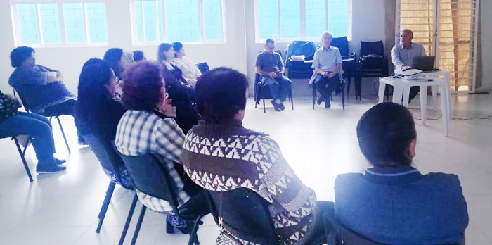 Diretores do Sindicato de Apucarana fizeram uma apresentação dos principais pontos da PEC 6/2019