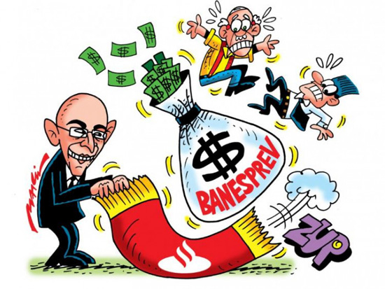 Santander quer se apropriar da previdência dos funcionários