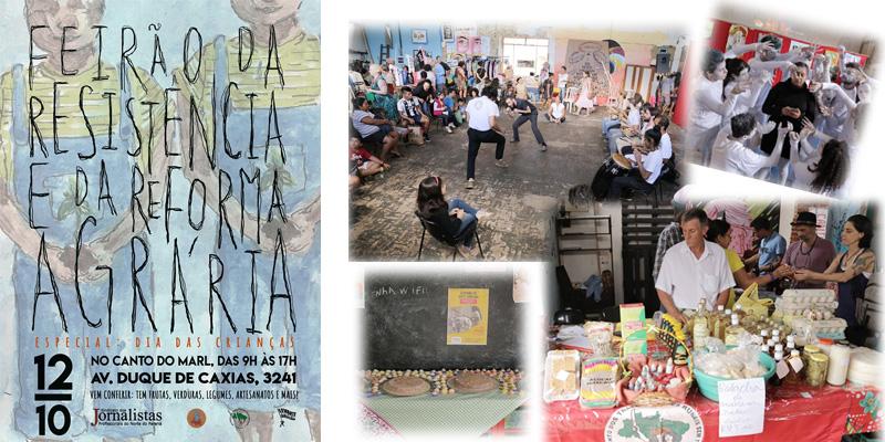 O Feirão da Resistência e da Reforma Agrária é realizado no Canto do MARL, localizado na Avenida Duque de Caxias, 3.241, no Centro de Londrina