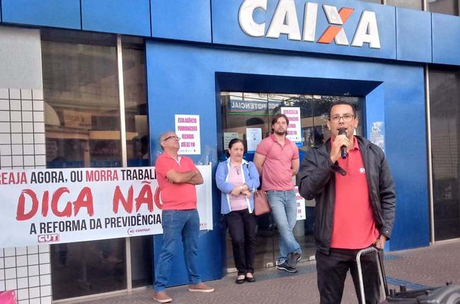 Ivaí Lopes Barroso, diretor do Sindicato de Cornélio Procópio, alertou sobre os riscos que a reforma da Previdência oferece aos brasileiros