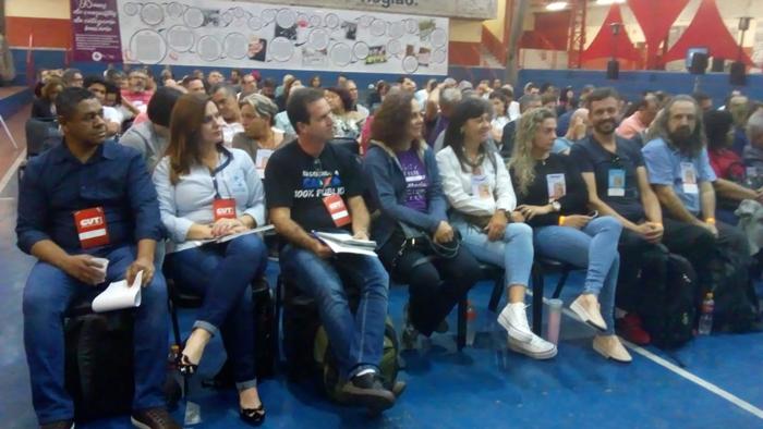 Bancários do Paraná participaram da Plenária para apontar propostas da categoria para o 13ºConCUT