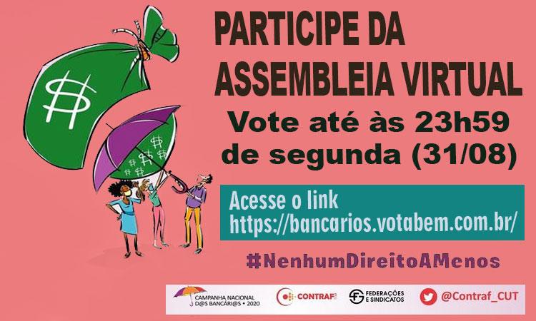Assembleias desta segunda-feira (31) definem rumo da Campanha 2020