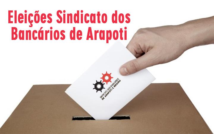 Eleições para a Diretoria do Sindicato de Arapoti têm chapa única