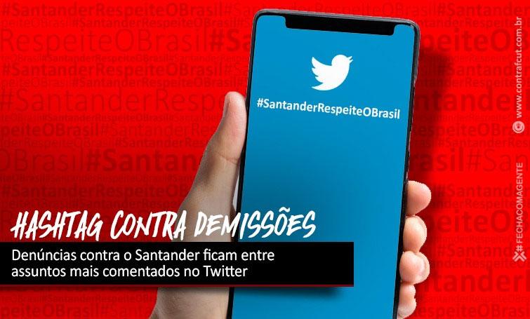Santander é alvo de protestos contra metas abusivas e demissões no Brasil