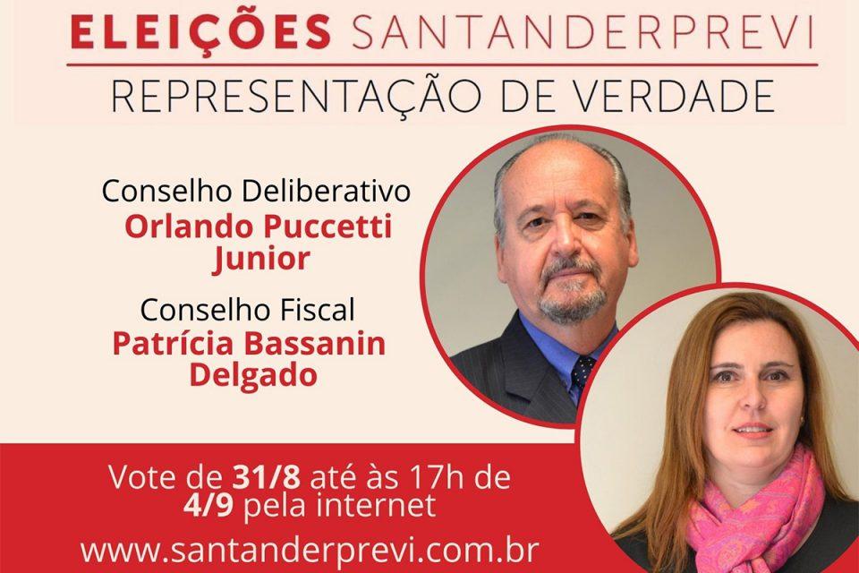 Começa a eleição para o SantanderPrevi