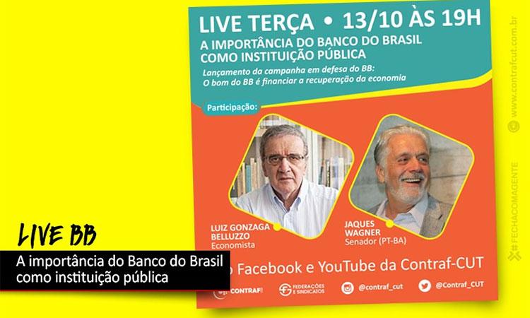 Contraf-CUT e Sindicatos lançam dia 13 campanha em defesa do Banco do Brasil