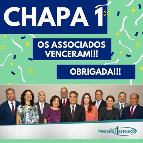 Chapa 1 vence eleições da Previ com 58,14% dos votos