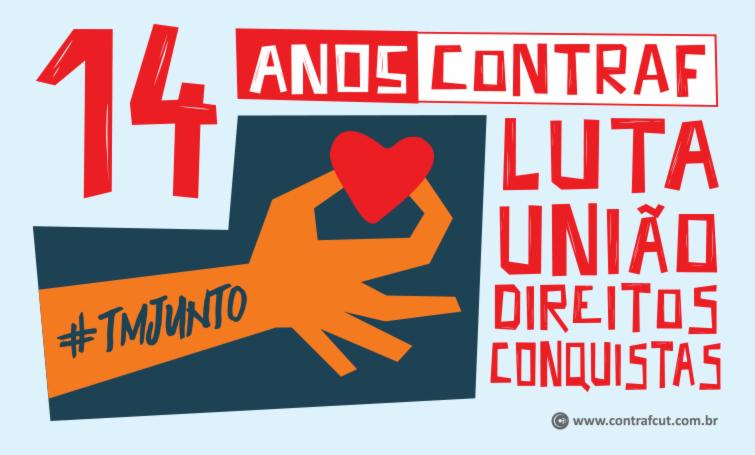 Contraf-CUT completa 14 anos de atuação em defesa dos trabalhadores bancários