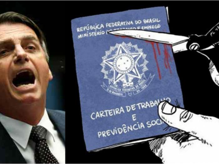 Análise mostra que Bolsonaro foi ruim para os trabalhadores em seu primeiro ano de governo