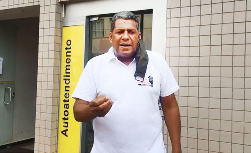 """Aparecido Carlos Fernandes """"Chico"""", orienta bancários a denunciar descumprimento dos protocolos da Covid-19"""