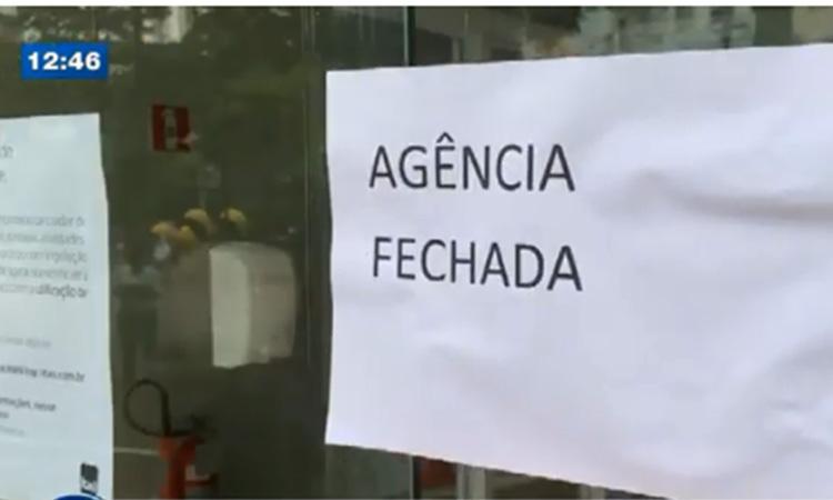 Duas agências são fechadas por suspeita de Covid-19 entre funcionários