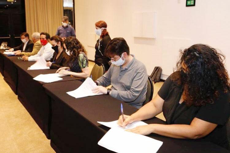 Com a assinatura do ACT com o Banco do Brasil foi encerrada a Campanha 2020 - Foto: Dino Santos / SPBancários