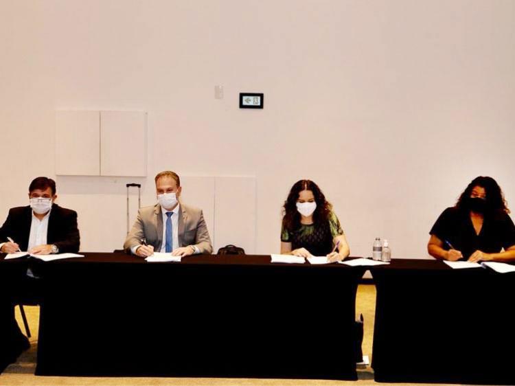 O ACT 2020/2022 dos empregados da Caixa foi assinado na sexta-feira (4/09), entre a Contraf-CUT e a direção do banco - Foto: Dino Santos