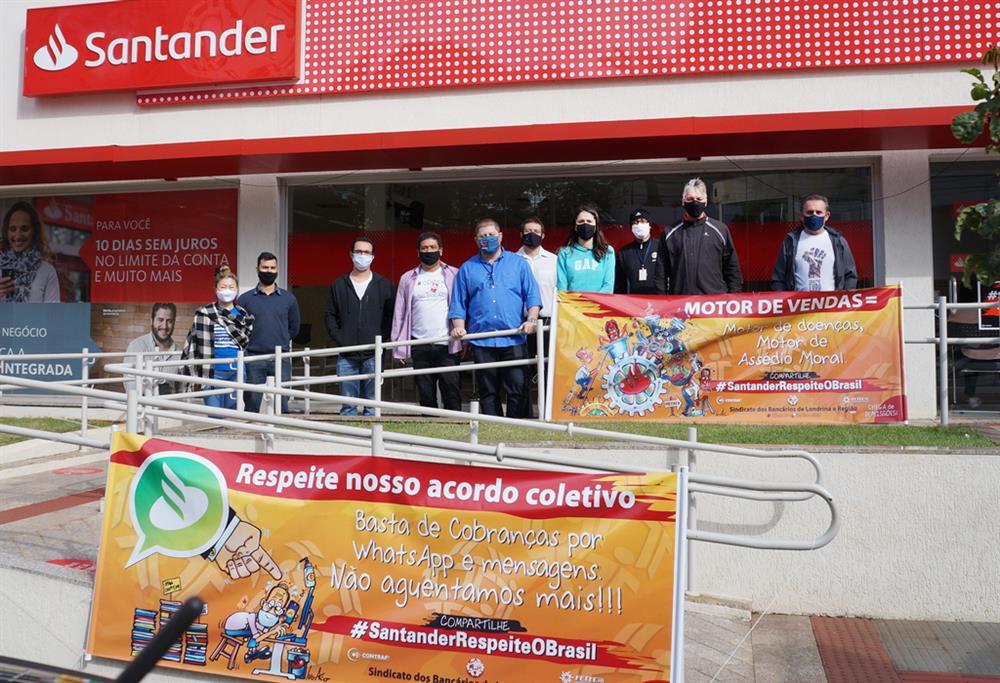 A atividade desta quinta-feira (30/07) está ocorrendo na agência Alto Higienópolis