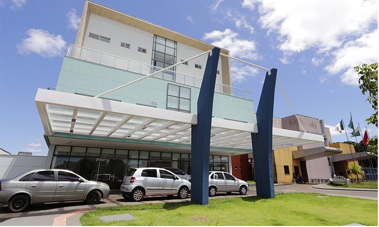 """Prédio da nova Maternidade do HU vai ser """"Hospital de Campanha"""" para atendimento da Covid-19 - Foto: Agência UEL de Notícias"""