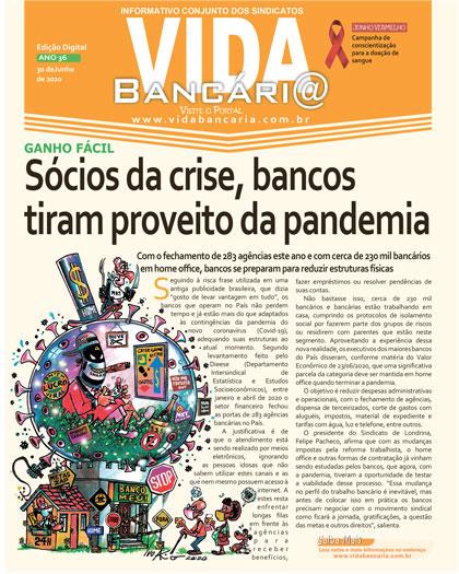 Bancos tiram proveito da pandemia para ampliar ganhos