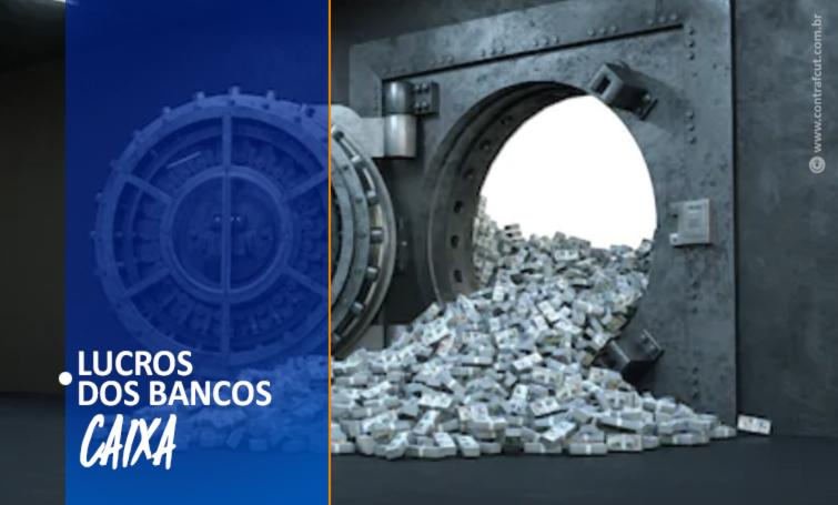 Caixa tem lucro de R$ 21 bilhões e paga PLR aos empregados