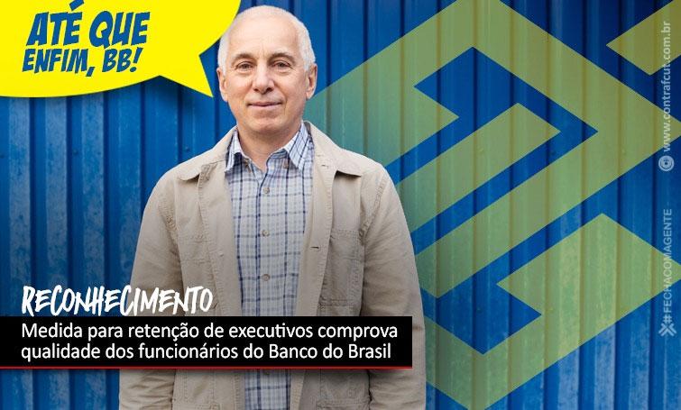 Banco do Brasil planeja manter diretores que vão se aposentar