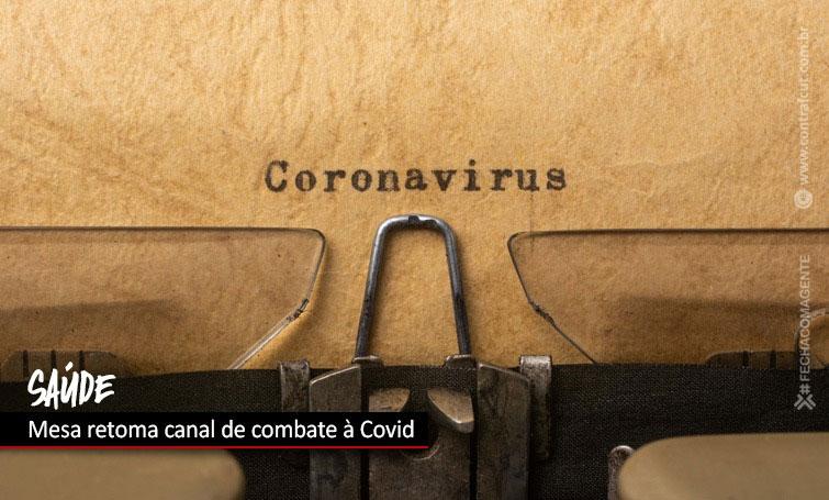 Mesa da Saúde discute medidas de prevenção à Covid-19