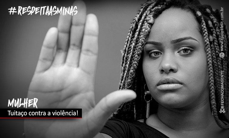 Participe do tuitaço desta quarta (25) pelo combate à violência contra a mulher