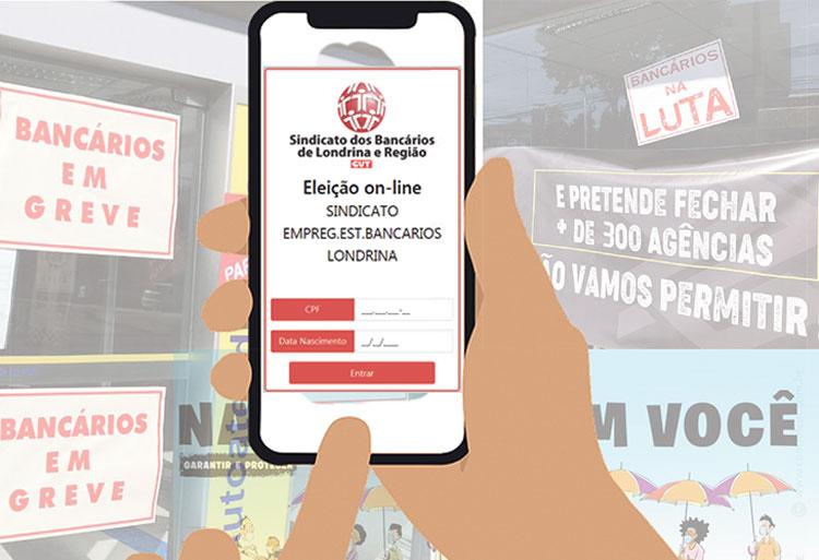 Eleições on-line do Sindicato de Londrina terminam hoje (25/03)